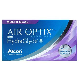 Air Optix plus HydraGlyde Multifocal (3er-Packung)