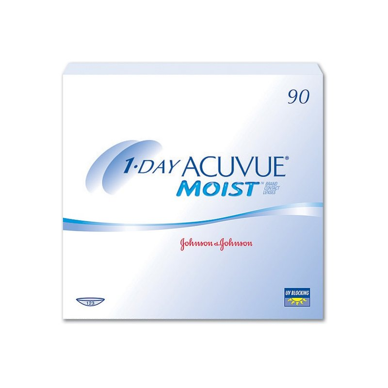 1 Day Acuvue Moist (90er-Packung) (0,63 € pro 1 Linse)