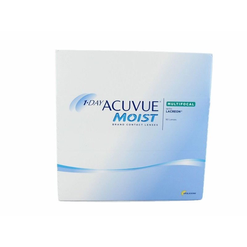 1 Day Acuvue Moist Multifocal (90er-Packung) (0,75 € pro 1 Linse)