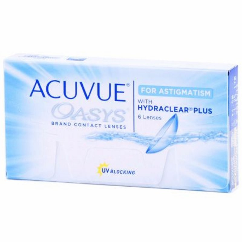 Acuvue Oasys for Astigmatism (6er-Packung) (5,43 € pro 1 Linse)