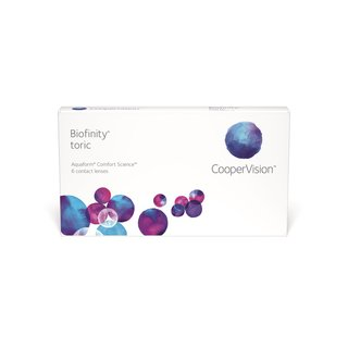 Biofinity Toric (6er-Packung)