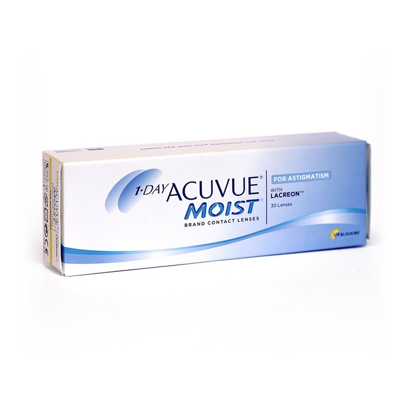 1 Day Acuvue Moist for Astigmatism (30er-Packung) (0,89 € pro 1 Linse)