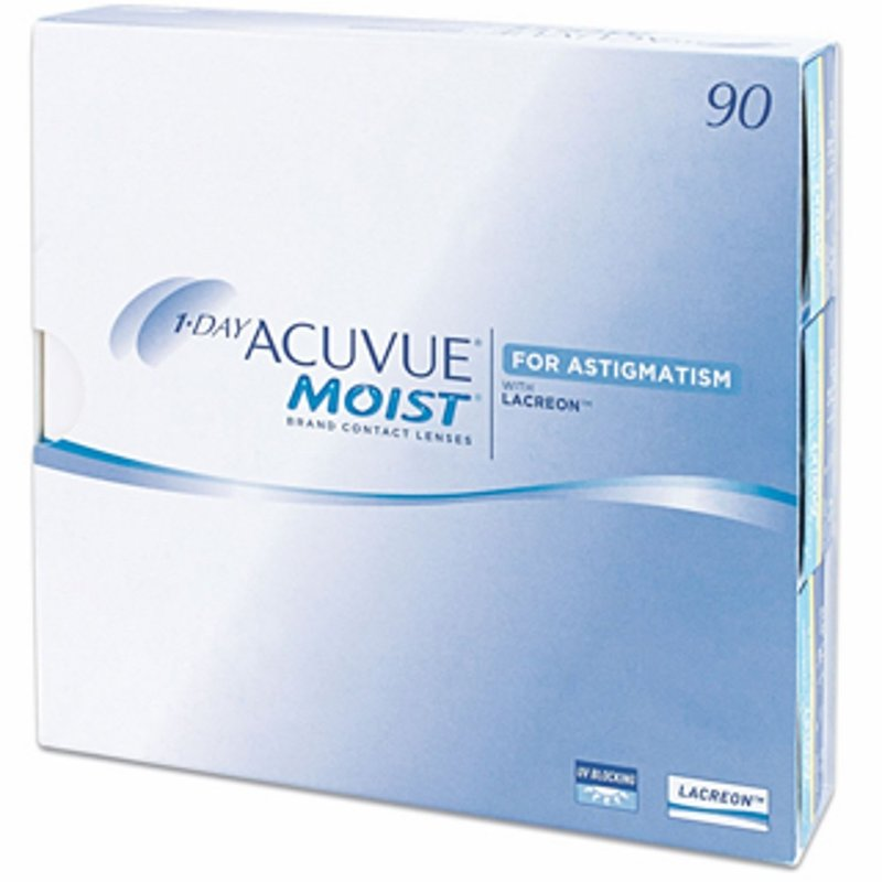 1 Day Acuvue Moist for Astigmatism (90er-Packung) (0,69 € pro 1 Linse)
